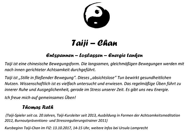 Taiji-Chan