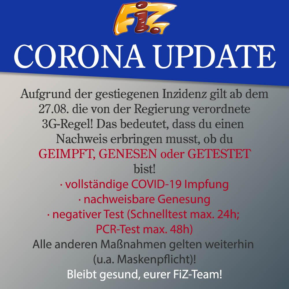 Corona Update August 2021