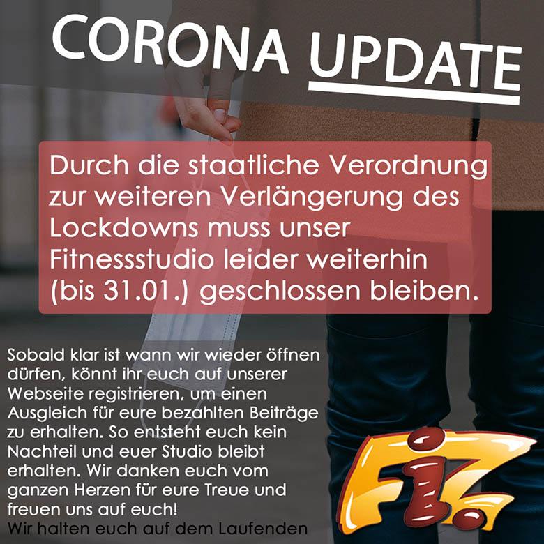 Corono Update Januar