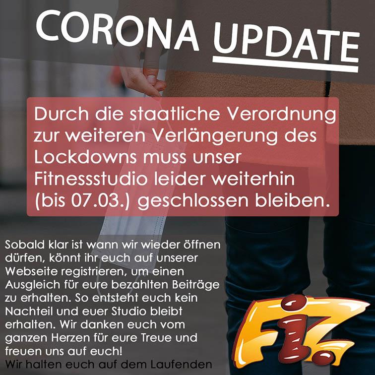 Corono Update Februar März
