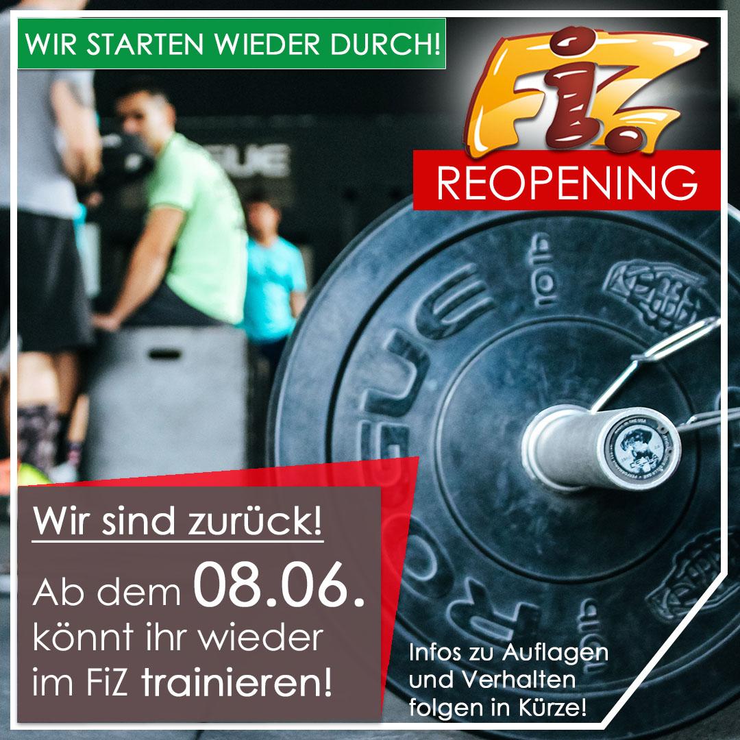 FiZ wieder geffnet ab 08.06.2020