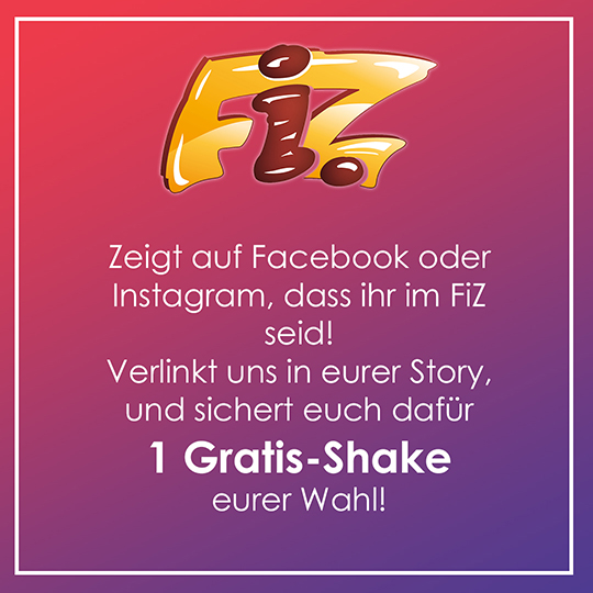 Verlinkt uns auf Facebook und Instagram