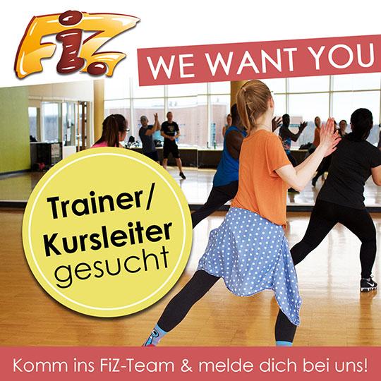 Wir suchen flexible Trainer bzw. Kursleiter