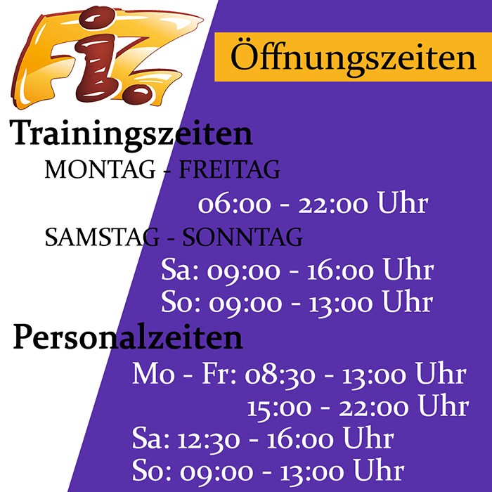 Neue Öffnungszeiten im FiZ Karlstadt ab 02.01.2020