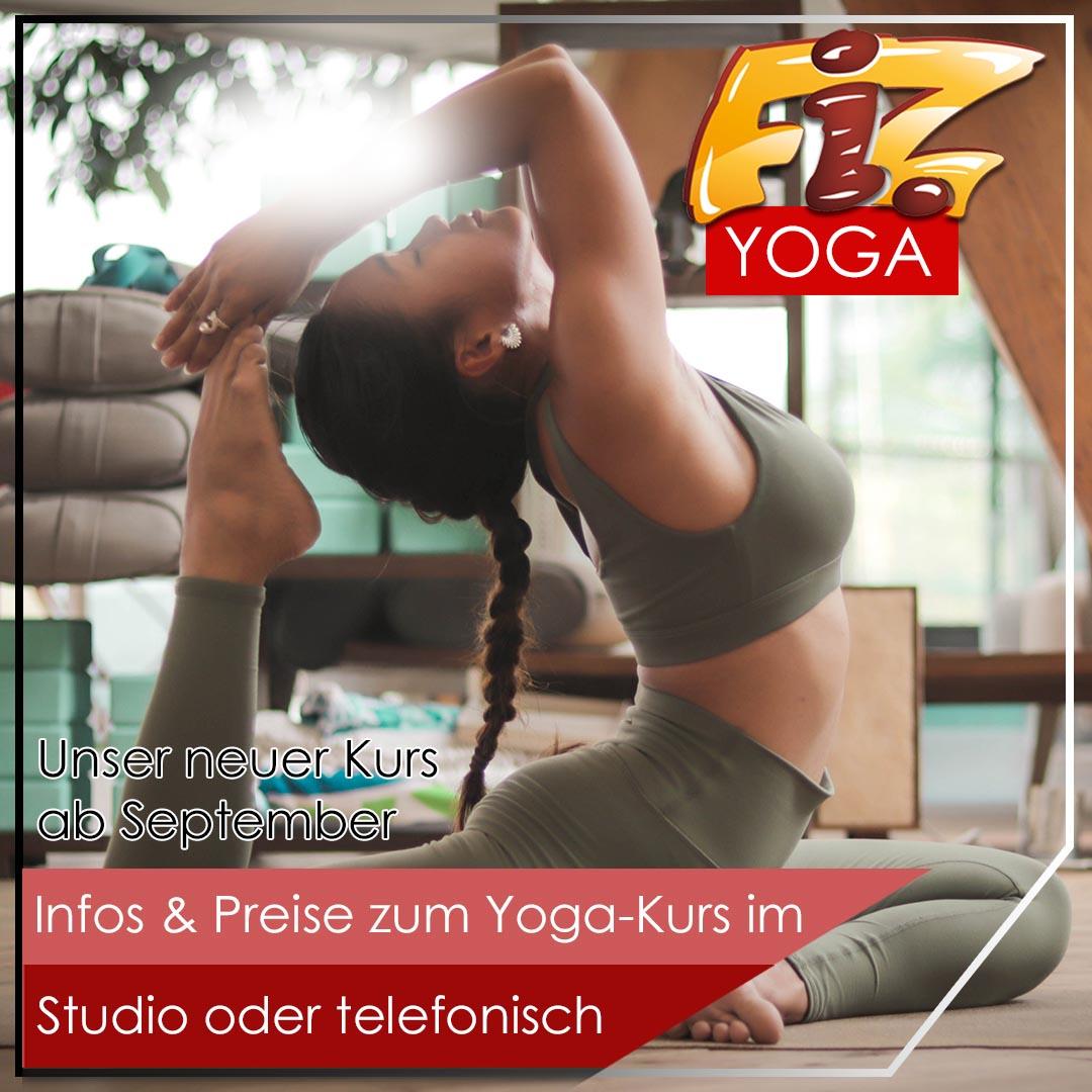 Yoga ab September im FiZ